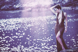 I can tell from your eyes,you've never been by the riverside__Mod_ Tiki Dafna_Styling & dsn _ Natali