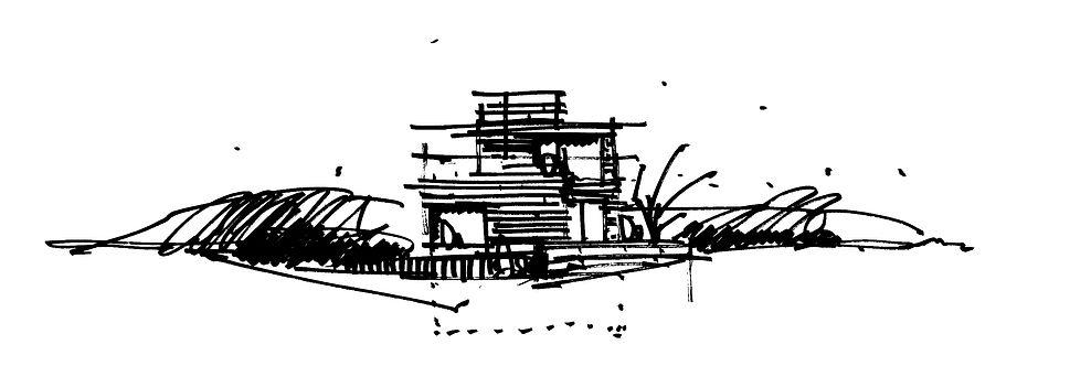 BØGEHEGNET_38_facadeskitse_håndtegning_t
