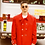 Thumbnail: Cherry Red Wool Coat