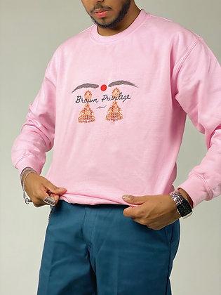 Spring Tone Brown Privilege Sweatshirt