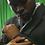 Thumbnail: Black Double Breasted Coat