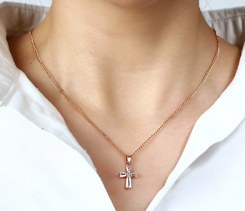 Mini Cross Pendant