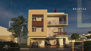 Vista Frontal Condominios