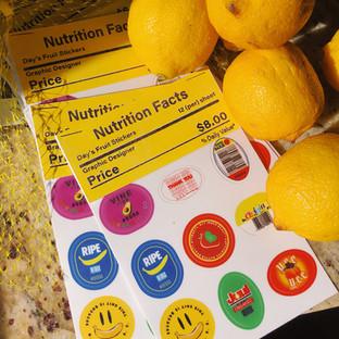 Fruit Sticker Pack