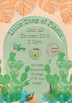 Little Shop of Plants Event