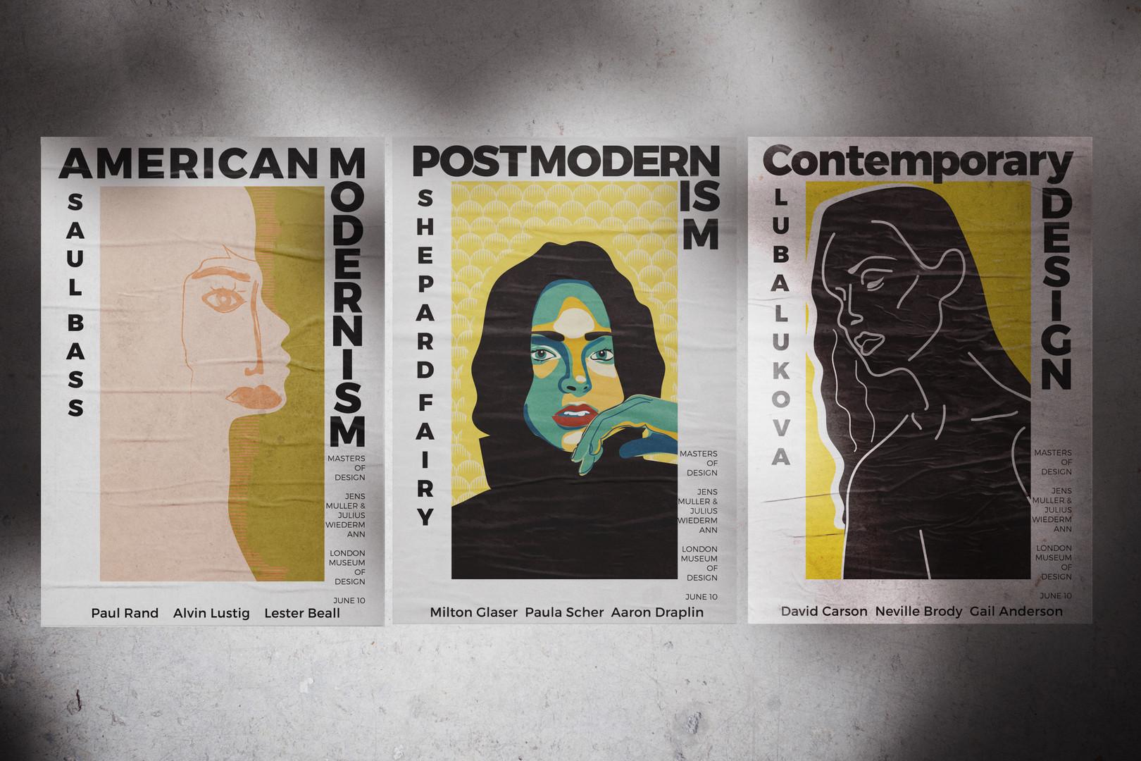 Museum Poster Illustration