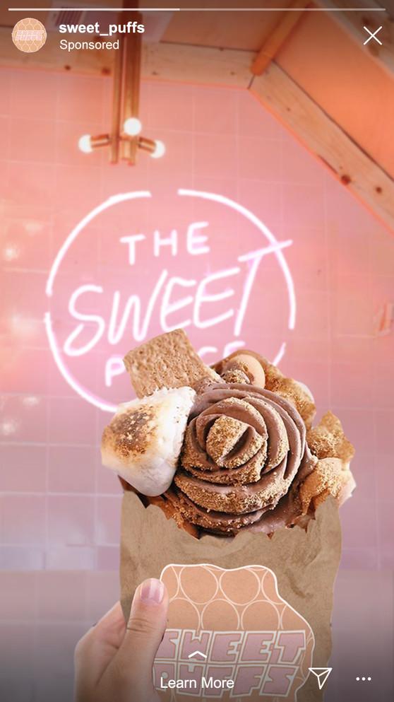 Branding for Sweet Puffs