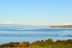 Vista de isla acuy y El Corcovado
