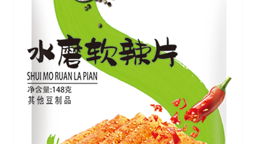 Spicy Beancurd Thin Strips 水磨软辣片