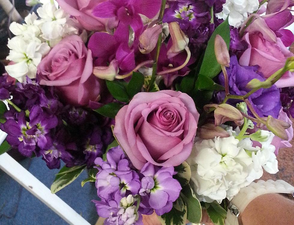 Lavender Lovely Hand-Tied Bouquet