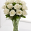 Thumbnail: White Roses Arranged