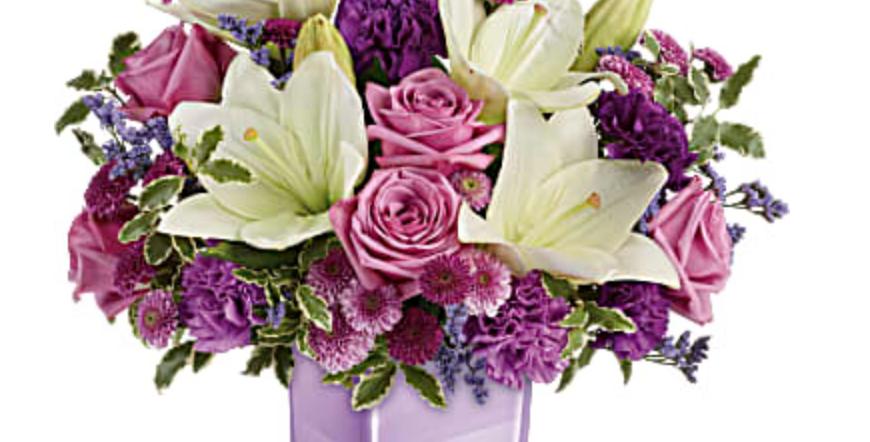 Teleflora Pleasing Purple