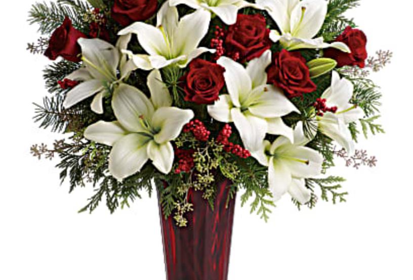 Teleflora Wondrous Winter Bouquet