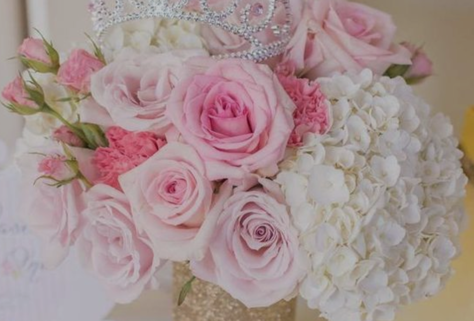 Bouquet for the Qunice Princess Bday
