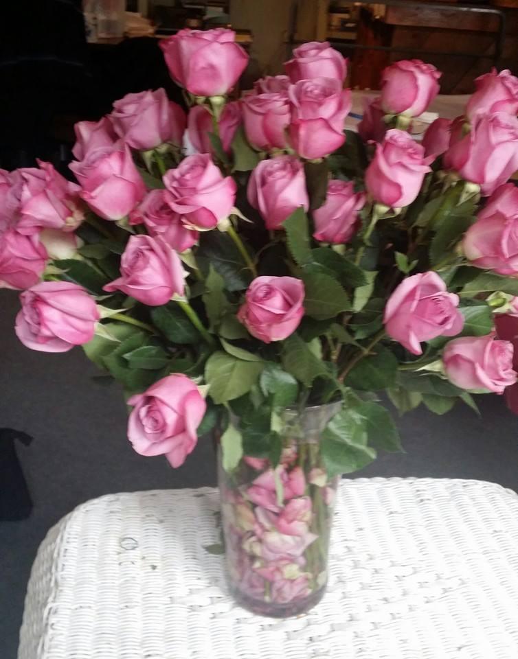 5 dz roses