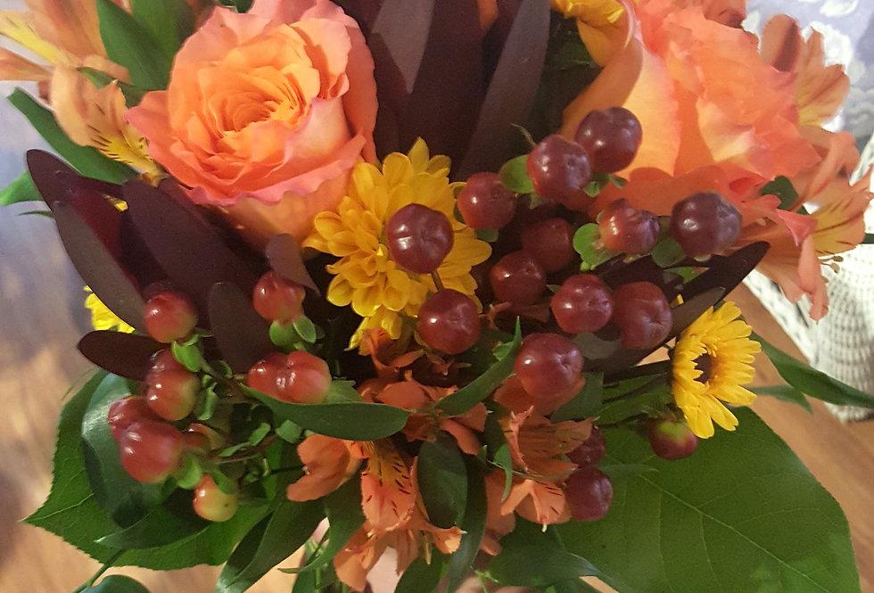 Autumn Petite Rose Bouquet