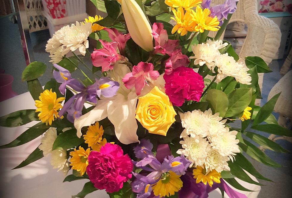 Mixed Sympathy Vase