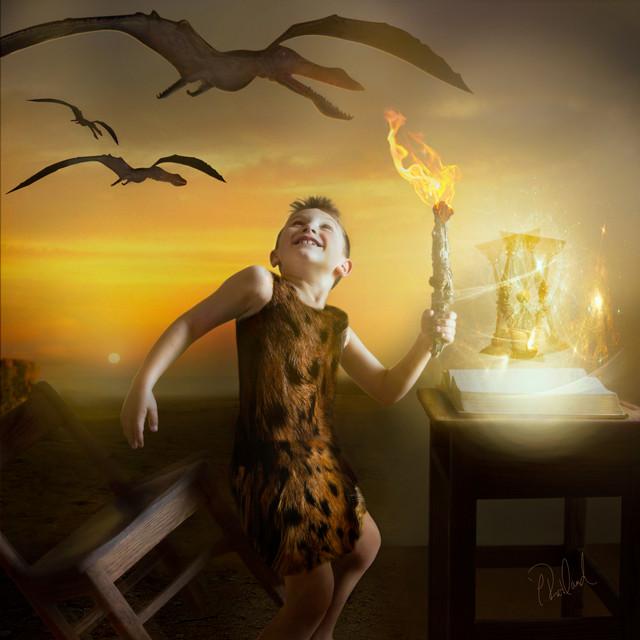 Magic of Literacy: The Caveman