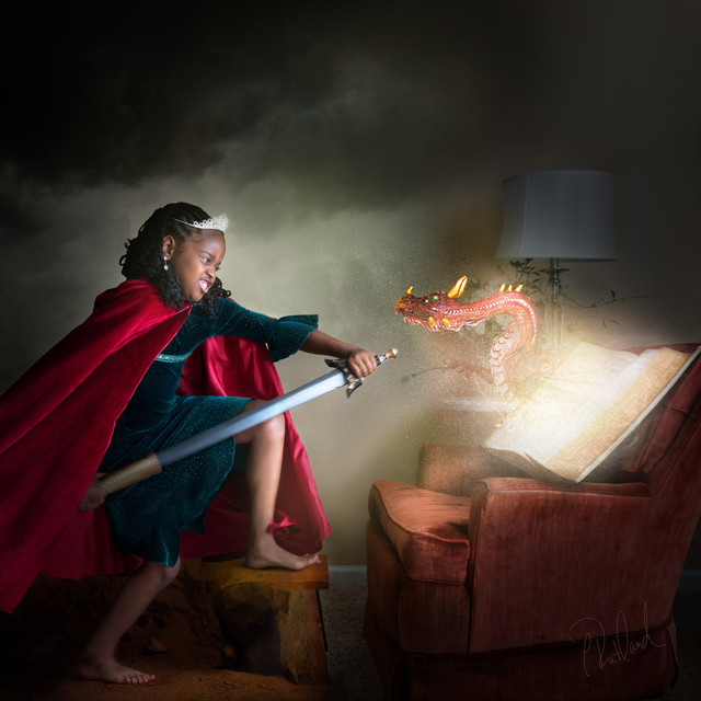 Magic of Literacy: Princess & the Dragon