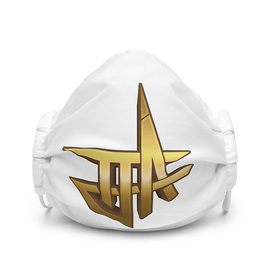 TJA Logo Premium face mask
