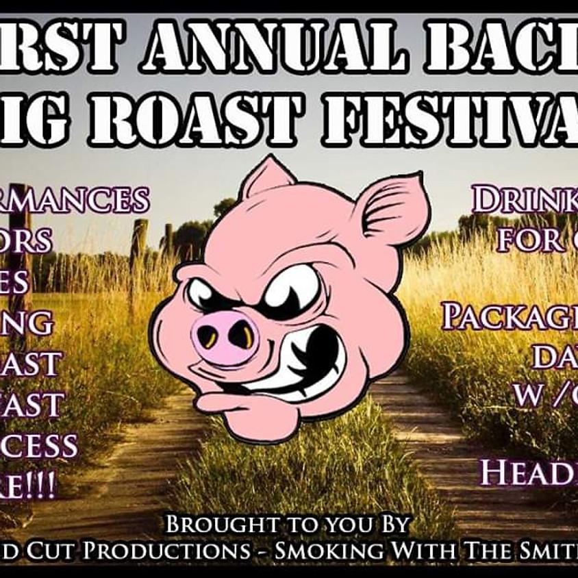 1st Annual Back Road Pig Roast Festival Featuring TJA