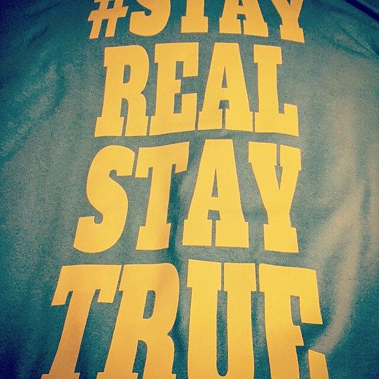 #SRST Shirt - Blue/Neon Yellow