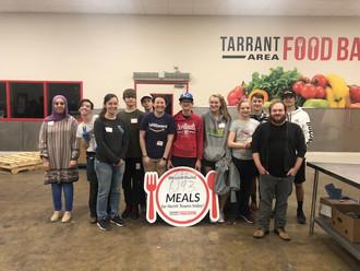 Teen SOYO at Tarrant Area Food Bank