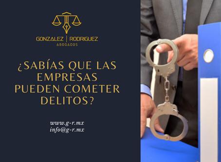 ¿Qué es la responsabilidad penal de las empresas?