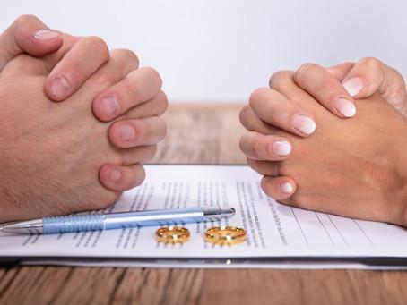 ¿Sabías que te puedes divorciar sin expresar el motivo?