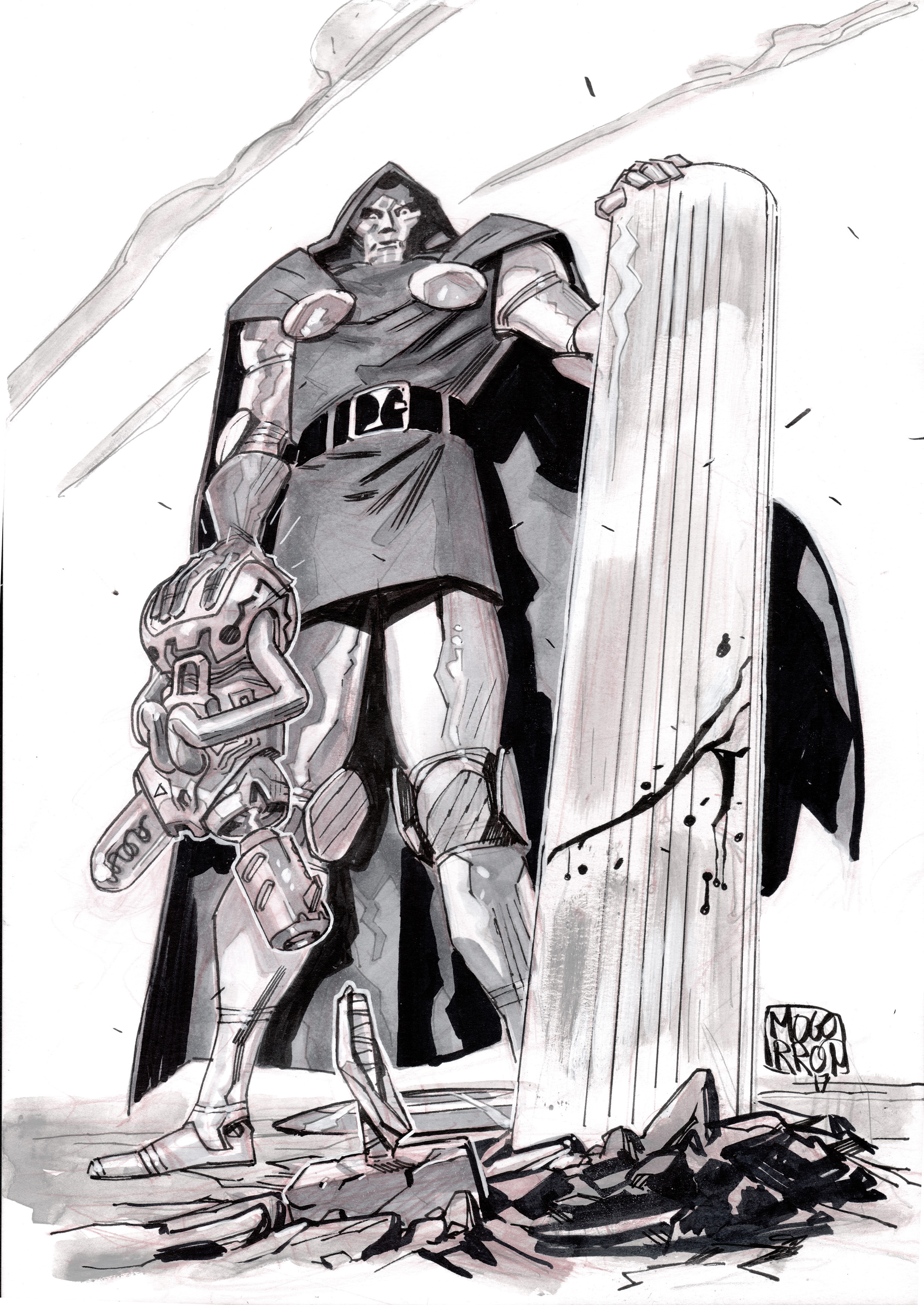 Dr. Doom with Kirby device