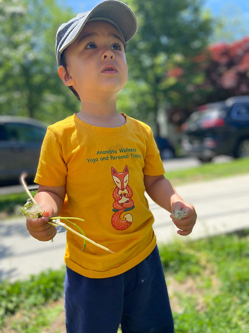 Yoga Fox T-shirt (size 4t)