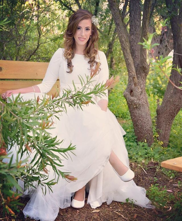 My beautiful Hodaya,  Mazal Tov! _#married #realbride #mazaltov #miapava #bridal #bride #fashion #na