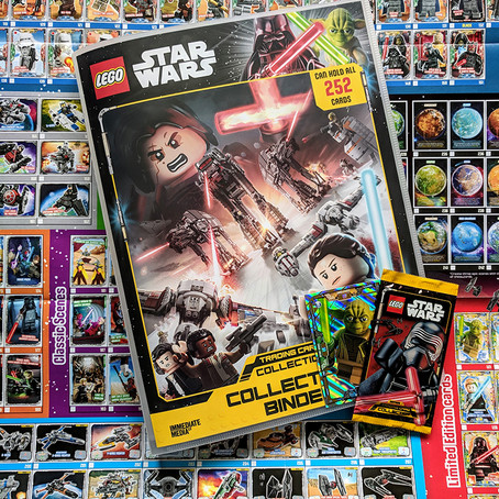 LEGO Star Wars trading cards launch in the UK!