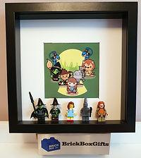Wizard of Oz BrickBox Minifigure frame