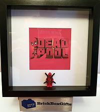 Deadpool BrickBox Minifigure frame