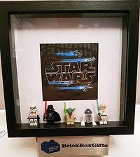 Star Wars BrickBox Minifigure frame
