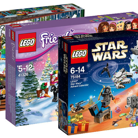 LEGO Advent calendars are back!