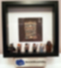 Harry Potter BrickBox Minifigure frame