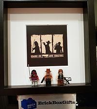 The Walking Dead BrickBox Minifigure frame