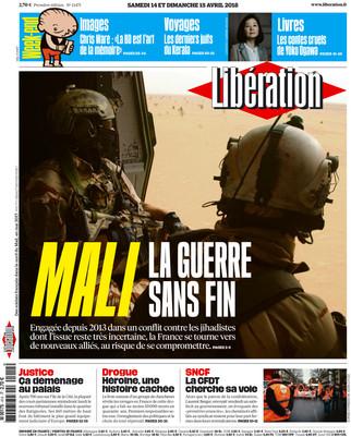 Libération - 14/15 avril 2018