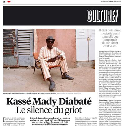 Libération - 28 mai 2018