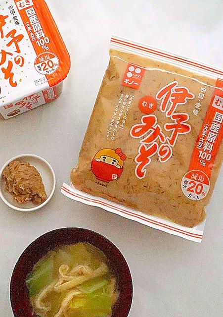 愛媛県内全域と周辺地域の主要スーパーで取り扱いあり。600グラムで500円。カップ入りが520円(税別参考価格
