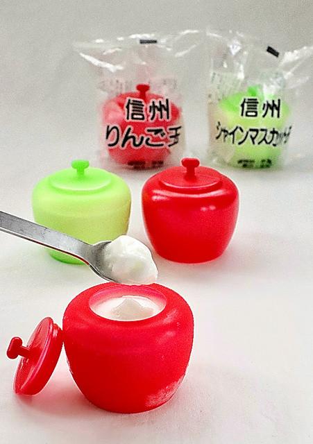 長野県のご当地スーパー食「信州りんご玉」中高冷菓