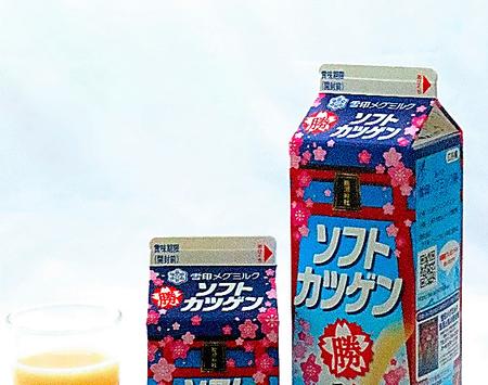 北海道のご当地スーパー食 ソフトカツゲン 雪印メグミルク