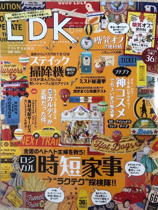 雑誌「LDK」2020年6月号 650円(税込)/晋遊舎