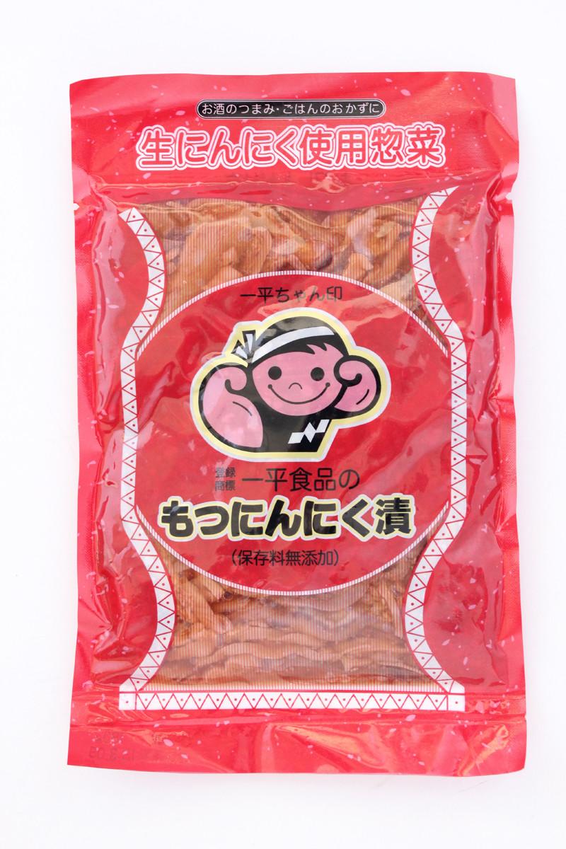 ナリタヤ名物「一平ちゃん印 もつにんにく漬」一平食品 399円