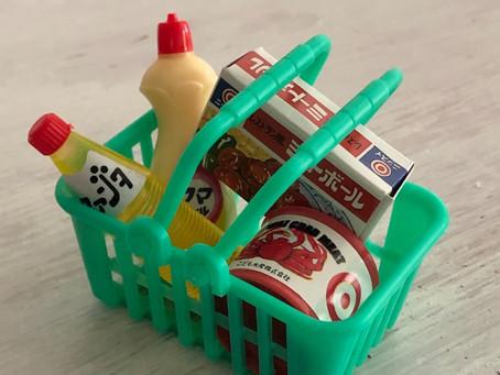 【スーパーでのお買い物心得の条】