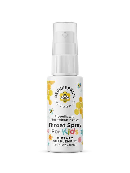 Kids Propolis Throat Spray by BEEKEEPER'S NATURALS