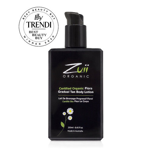 Certified Organic Flora Gradual Tan Body Lotion by ZUII ORGANICS