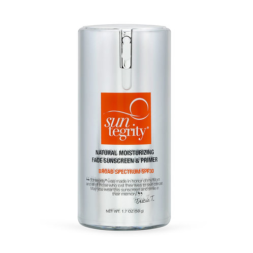 SPF 30 Natural Moisturizing Facial Sunscreen and Primer by SUNTEGRITY
